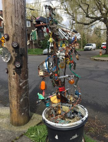 street corner installation