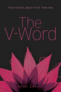 Cover of anthology The V-Word